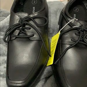 Boys Black dress shoe